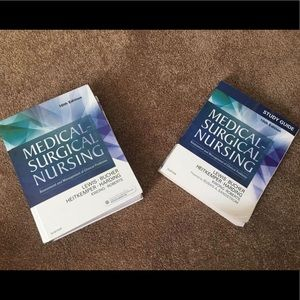 Medical Surgical Nursing text/study guide